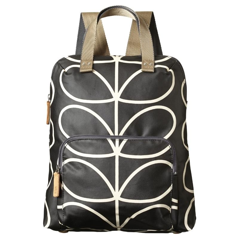 bb534207b3 Orla Kiely 0ETCLIN138-0040 Ladies Giant Linear Stem Backpack