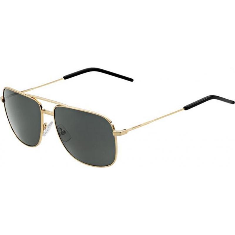 e4b08665877 Saint Laurent Paris 21472000059F9 Mens Classic 12 000 F9 Rose Gold Grey  Sunglasses