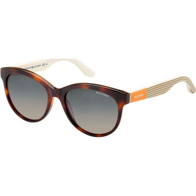 9d03aa46de Tommy Hilfiger 2167124MX55R4 Ladies TH 1265-S 4MX R4 Tortoiseshell  Sunglasses