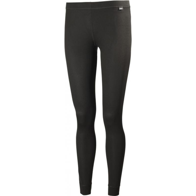 Helly Hansen 48600-990BLA-XS Ladies Dry Black Baselayer Pants - Size XS