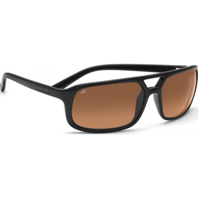 24e729fcfd Serengeti 7455 7455 Livorno Black Sunglasses