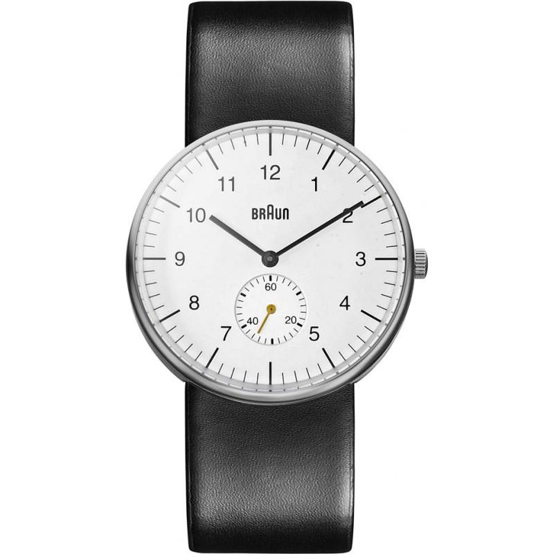 Braun BN0024WHBKG Mens White Black Watch