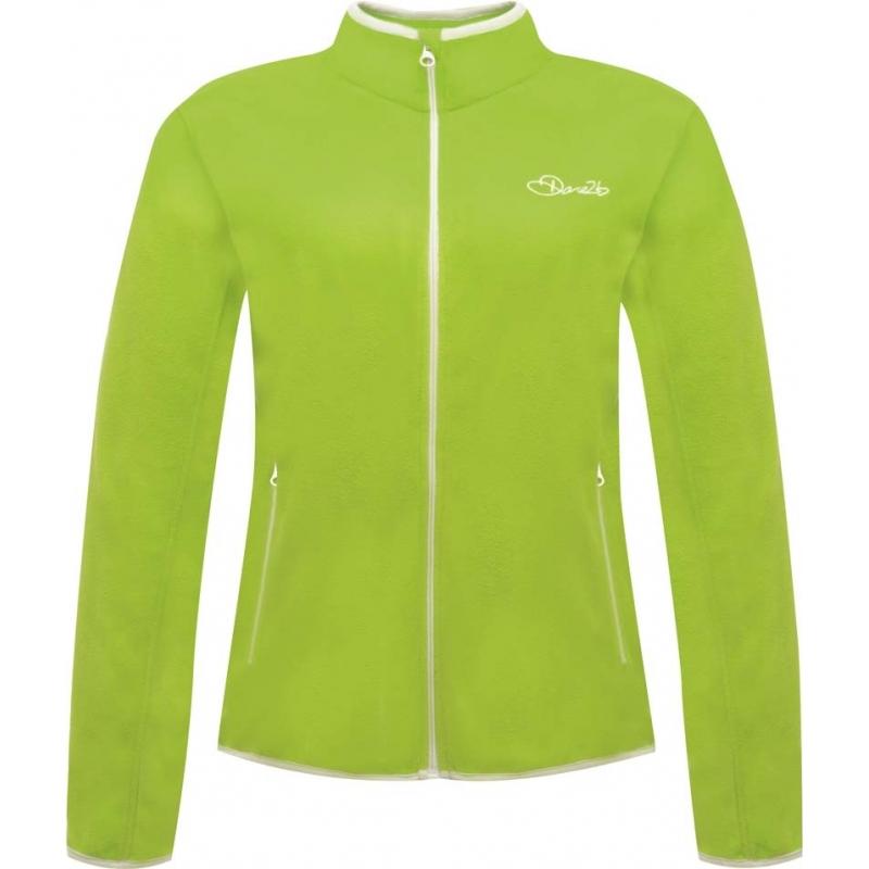 Dare2b DWA308-7FJ10L Ladies Sublimity Lime Green Fleece - Size UK 10 (S)