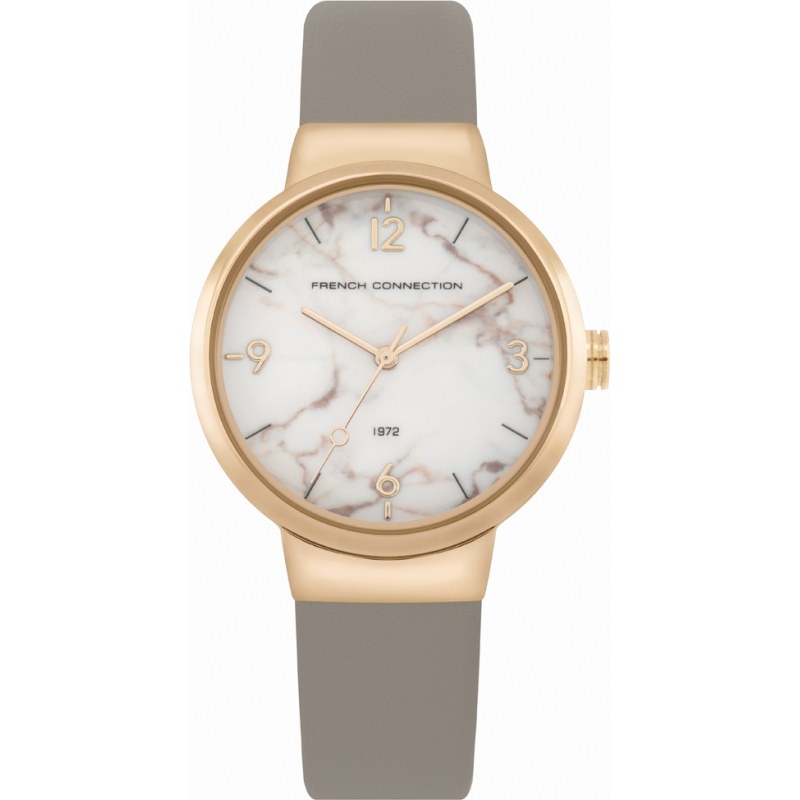 Grey Connection WatchChriselli Fc1291e Leather French KJFl1c