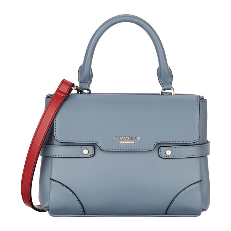 ab7b7f6950 Fiorelli FH8511-BLUE Ladies Grace Powder Blue Snap Mini Satchel