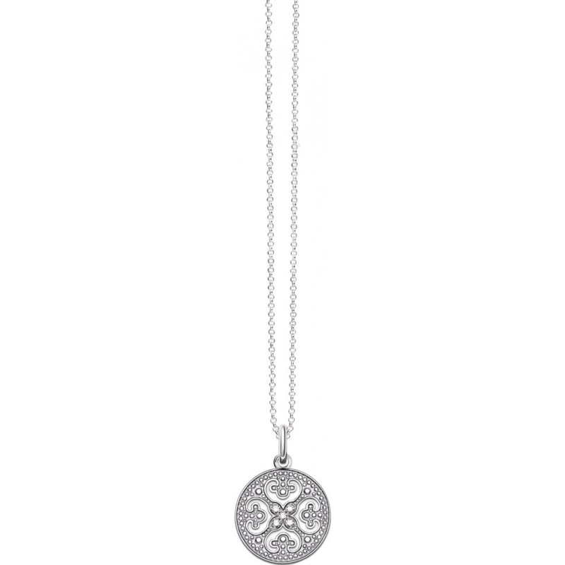 Thomas Sabo KE1555-051-14-L45v Ladies Glam and Soul 925 Sterling Silver Necklace