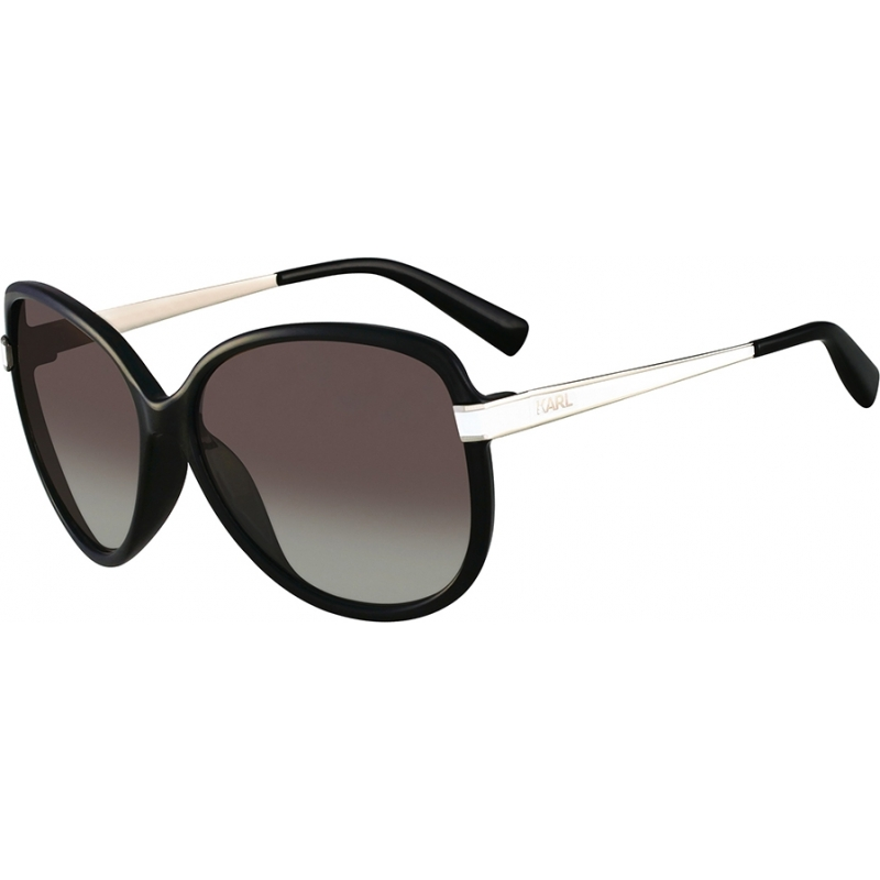 7979bdf4f5 Karl Lagerfeld KS6003-001 Ladies KS6003 Black Sunglasses