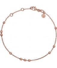 Emporio Armani EG3270221 Ladies Signature Finesse Rose Gold Plated Bracelet