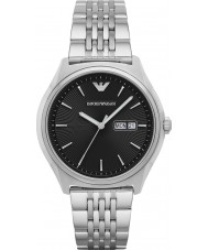 Emporio Armani AR1977 Mens Dress Silver Steel Bracelet Watch