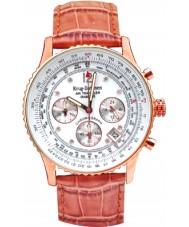 Krug Baümen 400701DS Mens Air Traveller Tan Leather Strap Watch