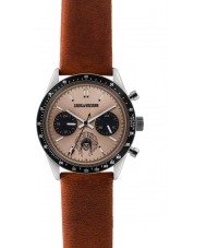 Zadig and Voltaire ZVM109 Master Brown Leather Chronograph Watch