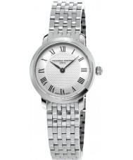 Frederique Constant FC-200MCS6B Ladies Slimline Silver Steel Bracelet Watch