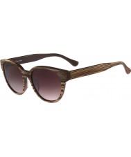 Calvin Klein Platinum Ladies CK4289S Duo Brown Sunglasses