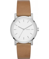 DKNY NY2339 Ladies Soho Brown Leather Strap Watch