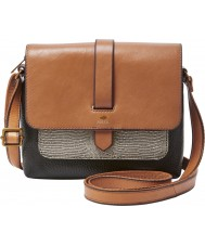 Fossil ZB6753994 Ladies Kinley Small Neutral Multi Cross Body Bag