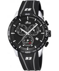 Lotus L18257-4 Mens Marc Marquez Black Rubber Chronograph Watch