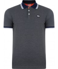 Dare2b DMT318-R3960-M Mens Under Rule Grey Marl Polo Shirt - Size M