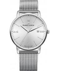 Maurice Lacroix EL1118-SS002-110-1 Mens Eliros Silver Steel Bracelet Watch