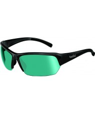 Bolle Ransom Shiny Black CompetiVision Gun Tennis Sunglasses