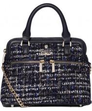 Modalu MH6208-NAVYTWEED Ladies Pippa Bag