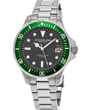 Stuhrling Original 664-03 Mens Aquadiver 664 Watch