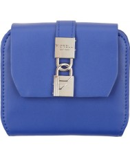 Fiorelli FS0862-COBALT Ladies Evie Large Cobalt Blue Flap Over Purse