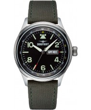 Dogfight DF0068 Mens Wingman Green Nylon Strap Watch