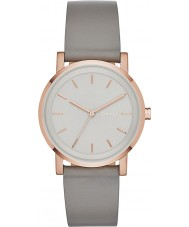 DKNY NY2341 Ladies Soho Grey Leather Strap Watch