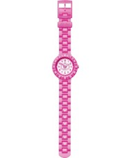 Flik Flak FCSP012 Girls Pink Summer Breeze White Watch