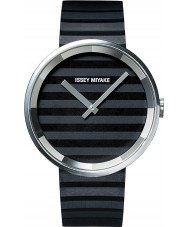 Issey Miyake AAA01 Ladies Please Black Silicone Strap Watch