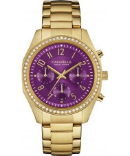 Caravelle New York 44L197 Ladies Melissa Gold Chronograph Watch