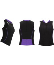 Zone3 Z14193 Ladies Aquaflo Black Purple Tri Top - Size L