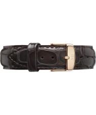 Daniel Wellington DW00200085 Dapper 19mm York Rose Gold Spare Strap