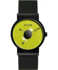 Zoom ZM-3652M-2511 Match Point Green Black Watch