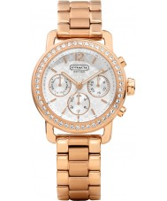 Coach 14501884 Ladies Legacy Sport Small Rose Gold Plated Chronograph Watch