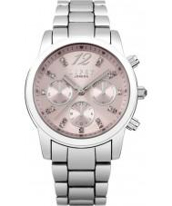 Lipsy LP390 Ladies Stone Set Multi Dial Silver Tone Watch