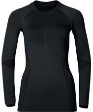 Odlo Ladies Evolution Black Graphite Grey Baselayer Top
