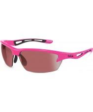 Bolle Bolt Neon Pink Modulator Rose Gun Sunglasses