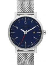 Nixon A1087-307 Mens Rollo 38 SS Silver Steel Bracelet Watch
