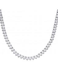 Diamonfire N4231 Ladies Memory Necklace