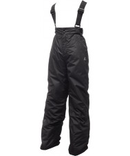 Dare2b DKW033-800026 Kids Turnabout Black Snow Pants - 26 inches