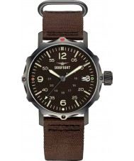 Dogfight DF0061 Mens Ace Brown Nylon Strap Watch