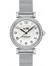 Coach 14502651 Ladies Madison Silver Steel Mesh Bracelet Watch