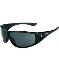 Bolle Highwood Shiny Black Polarized TNS Sunglasses