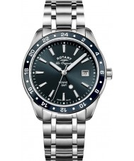 Rotary GB90172-05 Mens Timepieces Legacy Silver Steel Bracelet Watch