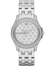Armani Exchange AX5215 Ladies Silver Steel Bracelet Dress Watch