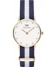 Daniel Wellington DW00100066 Ladies Classy Glasgow 26mm Rose Gold Watch