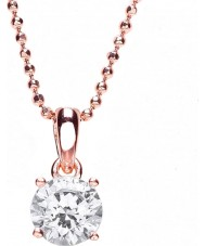Purity 925 PUR3580P Ladies Necklace