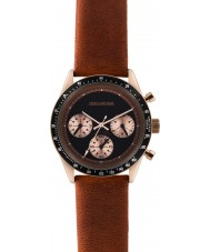 Zadig and Voltaire ZVM113 Master Brown Leather Chronograph Watch