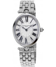 Frederique Constant FC-200MPW2V6B Ladies Classics Art Deco Silver Steel Bracelet Watch